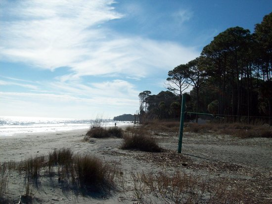 Hunting Island State Park:                   Serene beach area