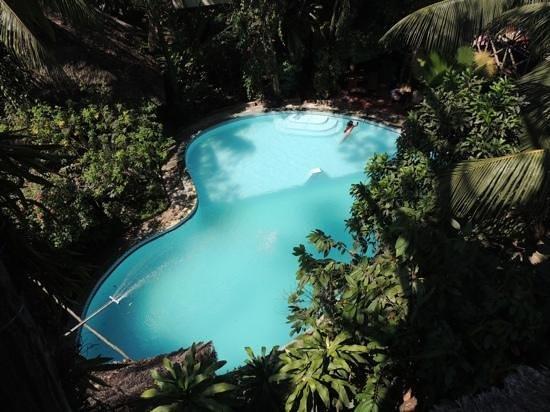 La Casa Fitzcarraldo: la piscina