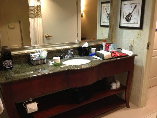 Hampton Inn & Suites Memphis - Beale Street: bathroom