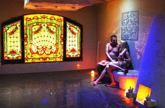 Steam room picture of oriental spa hammam sharm el for Salon oriental