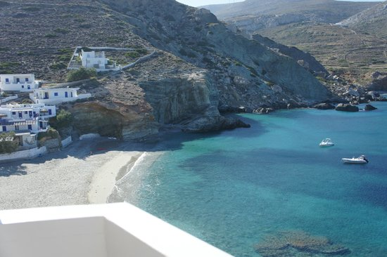 Pasithea Folegandros:                   Off of our room's balcony