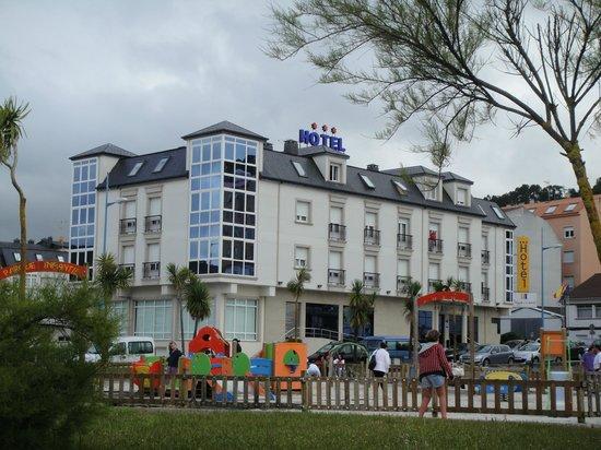 Hotel Playa de Laxe: El hotel