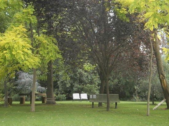Casa Glebinias: jardin