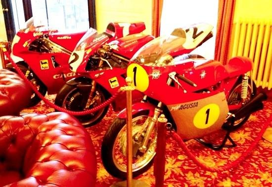 Palace Grand Hotel:                   Bikes in the lobby