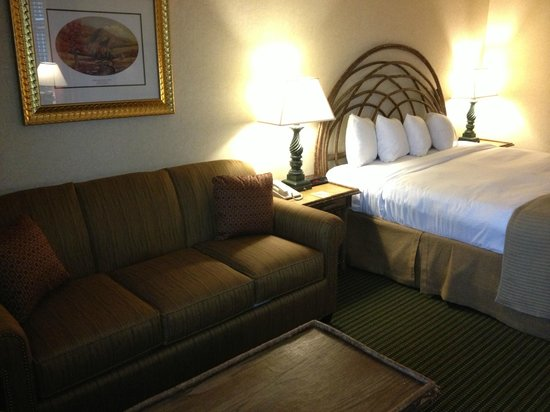 Brasstown Valley Resort & Spa: King Bedded Room