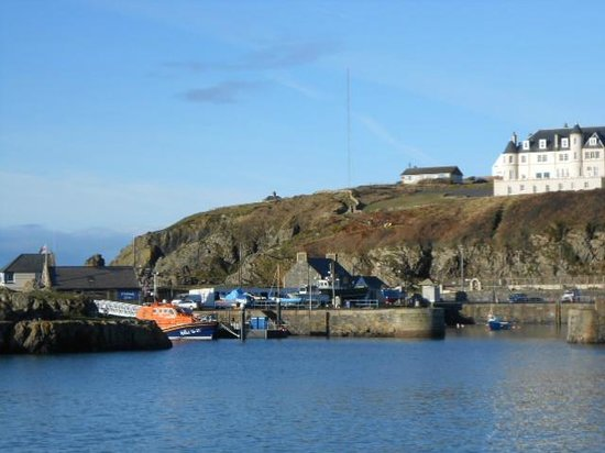 The Portpatrick Hotel:                   portpatrick harbour