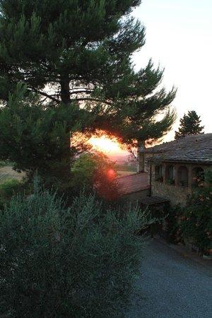 Agriturismo Saletta: Tramonto a Saletta