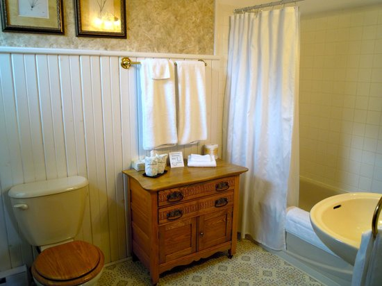 Carlyle Inn and Bistro: Typical Bathroom