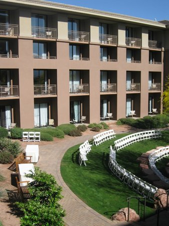The Westin Kierland Resort & Spa: Courtyard view
