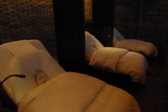โรงแรมเดอะเพนนินซูล่า ปักกิ่ง: Spa Lounge Area