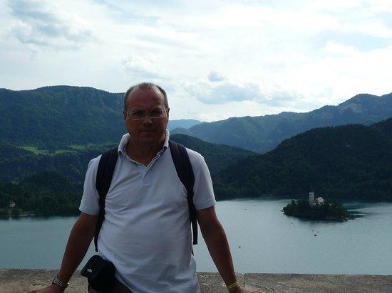 Park Hotel Bled: Vistas magnificas desde el Hotel
