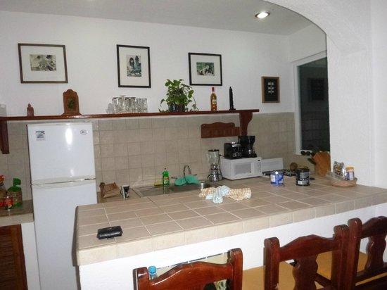 Hacienda de la Tortuga: Kitchen - very well equipped