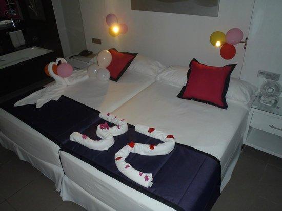 Hotel Riu Palace Costa Rica:                   My Birthday Decorations