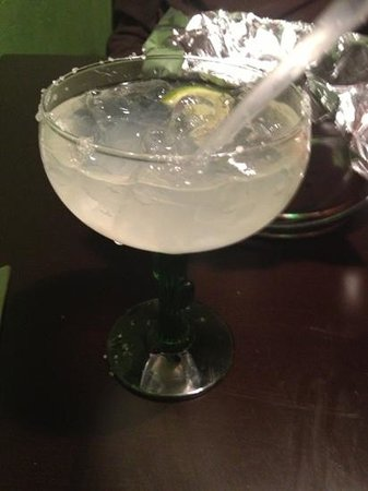 Fresco Mexican Grill:                   yummy Margi!