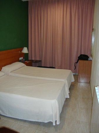 Hotel Ingles: La habitación doble