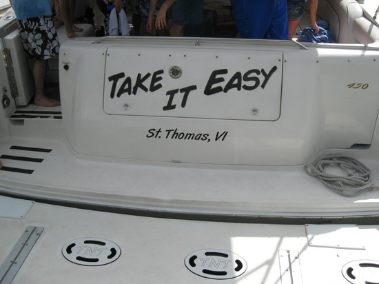 Take It Easy:                   one