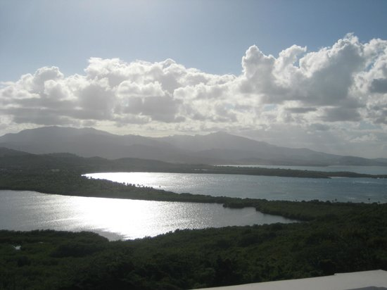 Las Cabezas de San Juan Nature Reserve:                   View from the lighthouse at Las Cabezas