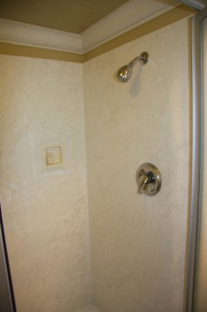 Inn at San Luis Obispo:                   Inside of shower