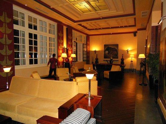 La Residence Hue Hotel & Spa:                   Hotel Lobby Area