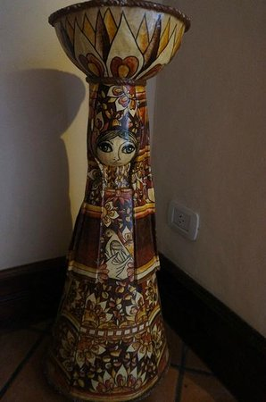 Hotel del Virrey:                   Beautif art everywhere