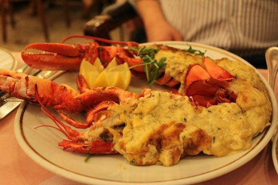 Timhotel Opera Madeleine: lobster thermidor