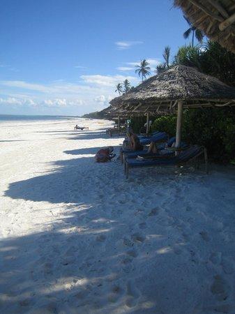 Zanzibar Retreat Hotel: Nedanför hotellet