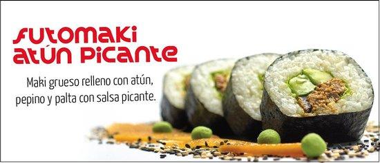 Sushi Tren : Futomaki Atun Picante