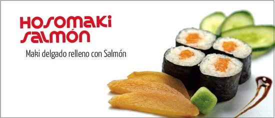 Sushi Tren : Hosomaki Salmon