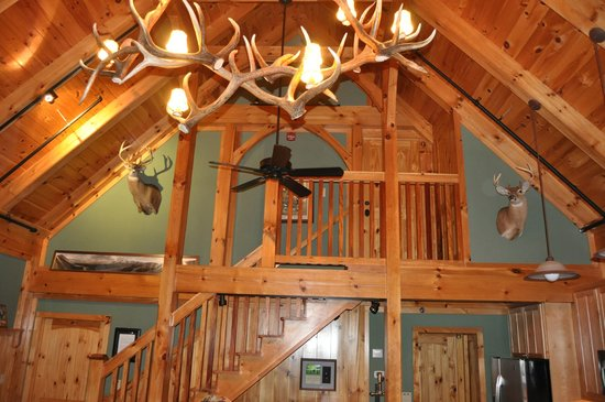 The Fork Farm & Stables:                   In the Lodge