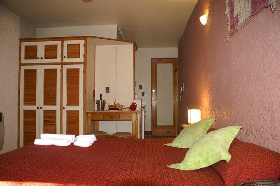 Xumec Apart Hotel : Habitacion esquina
