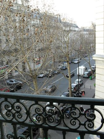 Grand Hotel Francais: Room 33 privilegée for 2 - View from window