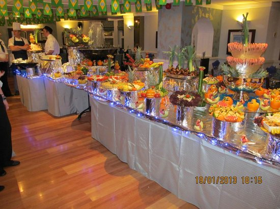 Tynedale Hotel:                   Saturday buffet.
