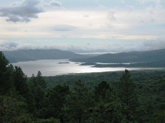أرينال أوبسيرفاتوري لودج آند سبا: View from restaurant (Lake Arenal)
