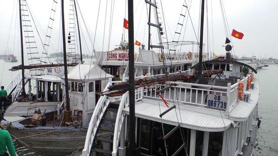 Darian Culbert:                   The boat