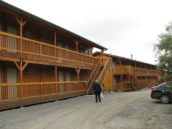 Denali Grizzly Bear Resort: Good but too pricey!!