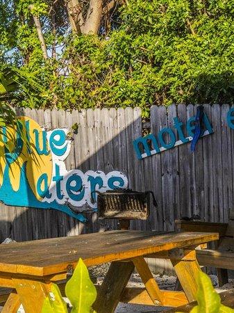Blue Waters Motel: Feels like the Keys