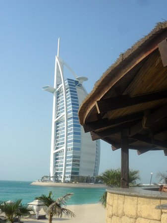 Jumeirah Mina A'Salam:                   View from the beach