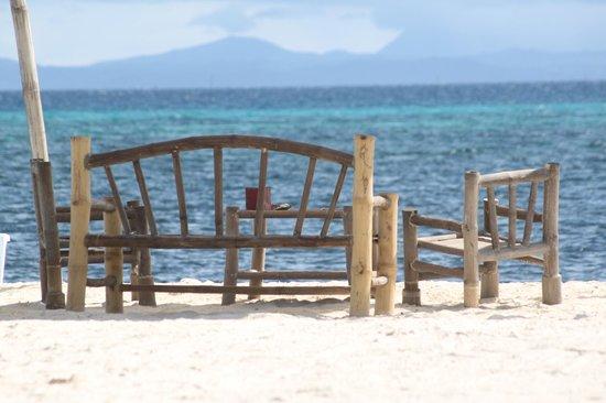 AABANA Beach & Watersport Resort Malapascua: morgendlicher Treffpunkt