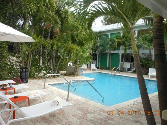 Almond Tree Inn: pool and back building