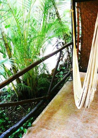 Hotel Playa del Karma: terraza de habitación Nativo