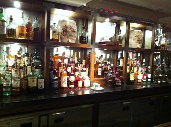 Langton House Hotel: bottles 