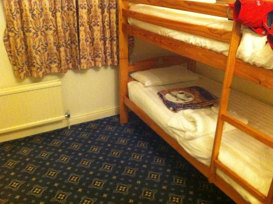 BEST WESTERN Crown Hotel: Bunk beds