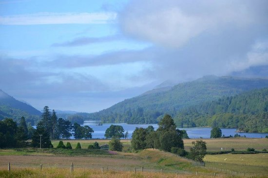 Strathoich Bed & Breakfast:                   Morning View From Room 1