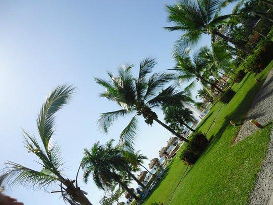 Royal Decameron Beach Resort, Golf & Casino: Jardin 