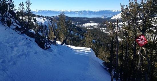 Mt. Rose Ski Resort :                   Lake view!