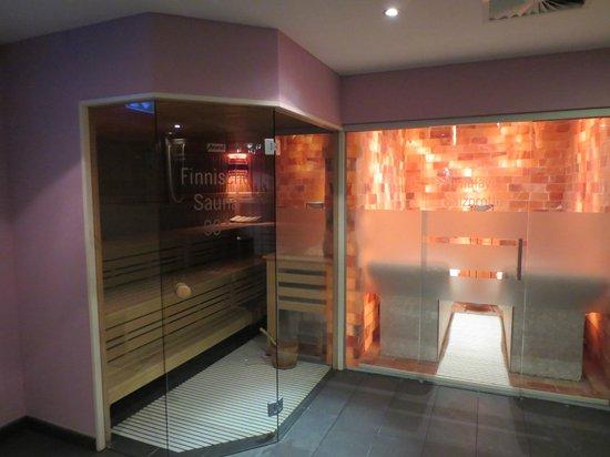 Hotel Kolb & Inselchalets: Finnische Sauna und Himalaya-Salzgrotte