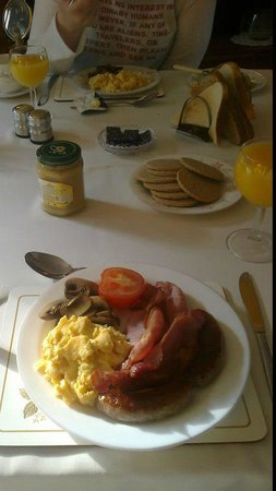 Strathoich Bed & Breakfast:                   Breakfast of Choice