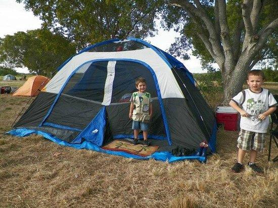 Flamingo Campground: Our campsite