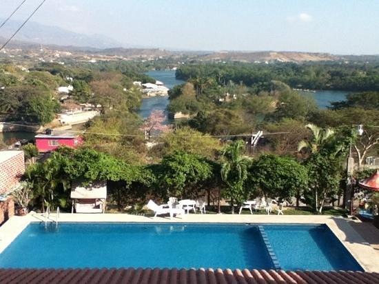 River Side Hotel: vista desde habitación