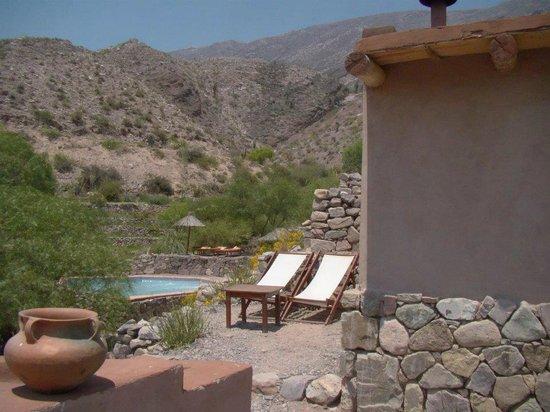 Cerro Chico: La terracita de la habitación